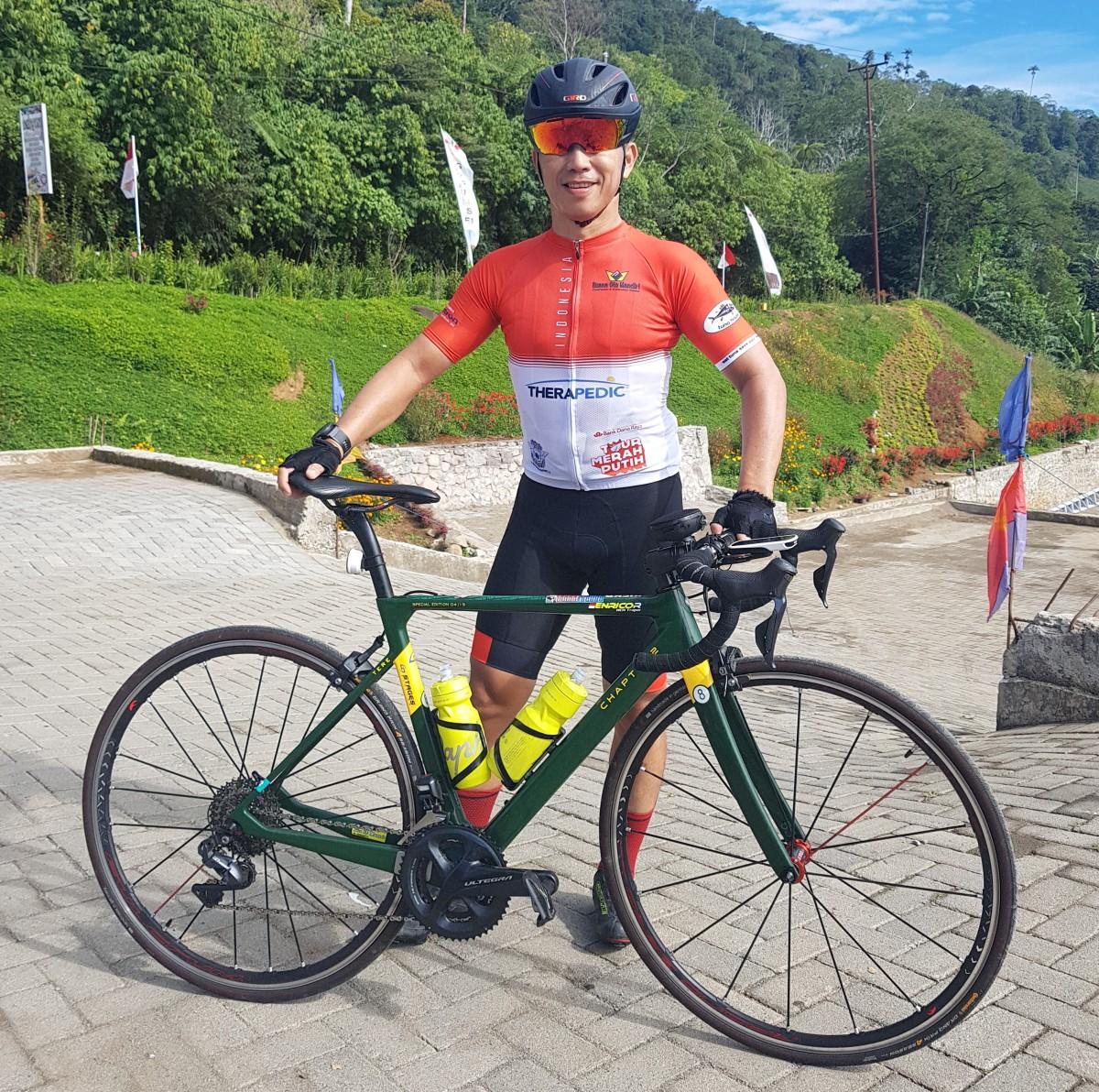 Sepeda (dan Owner) Tangguh di Tour Merah Putih Gorontalo-Manado 400 KM