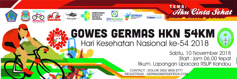 Gowes Germas HKN 54 km 2018