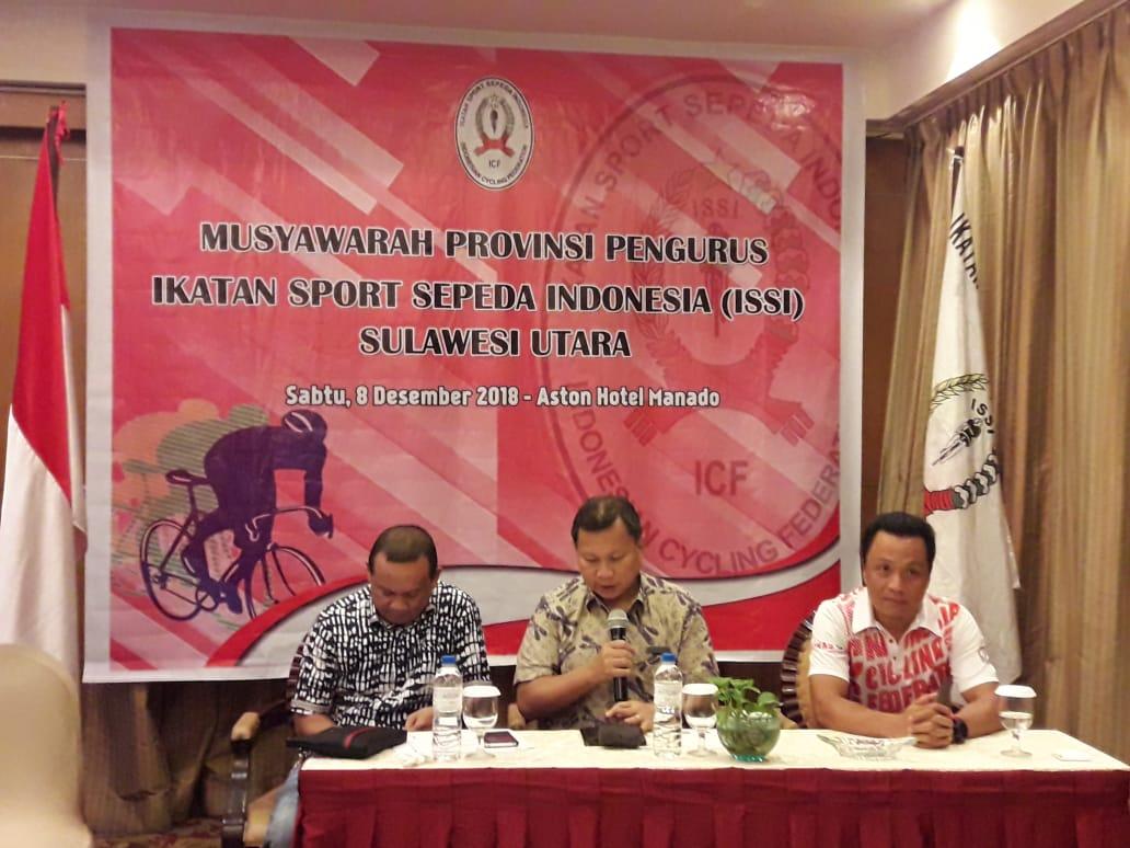 Revino Pepah Resmi Terpilih Ketua Umum Pengprov ISSI Sulut