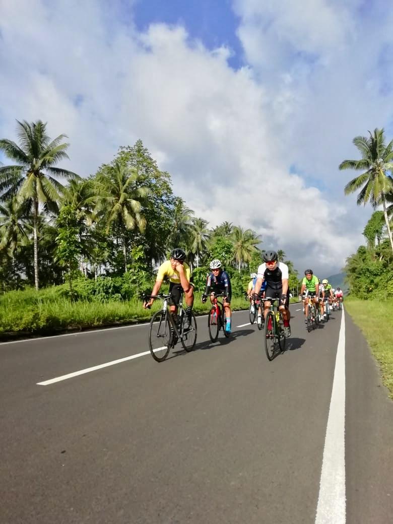 201,9 KM Manado Year End Ride Sukses, Seru dan Spektakuler